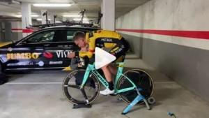 scansione 3d del ciclista Tony Martin