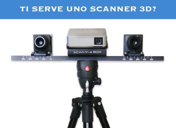 SCAN 3D SERVICE RIVENDITORE SCAN IN A BOX