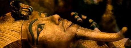 La scansione 3D della camera funeraria di Tutankhamun