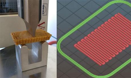 Ridurre lo zucchero nei biscotti con la stampa 3D